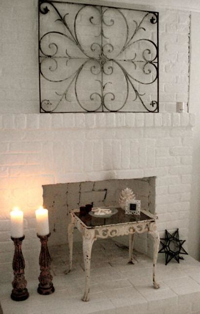 shabby chic brick fireplace shabby chic brick fireplace home design and interior decorating ideas