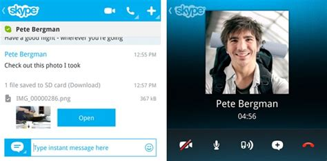 skype launches blackberry 10 but only the blackberry q10