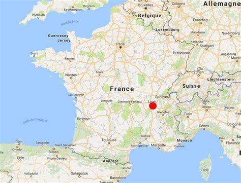 carte de lyon dans le rhône carte et plan de la ville de