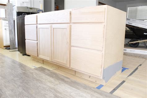 build an island from kitchen cabinets how to build a kitchen island easy diy kitchen island 9325