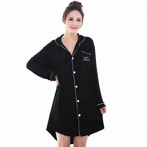 Online Buy Wholesale long black nightgown from China long ...