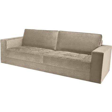 sofa veludo verde escuro sof 225 3 lugares first veludo bege escuro 2b 2 30m divani