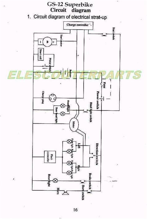 Wiring Diagram For Chinese Mini Chopper