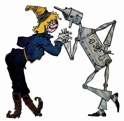 Clipart Scarecrow Transparent Woodman Tin Webstockreview Wizard