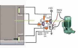 Single Phase Jet Pump Controller Circuit