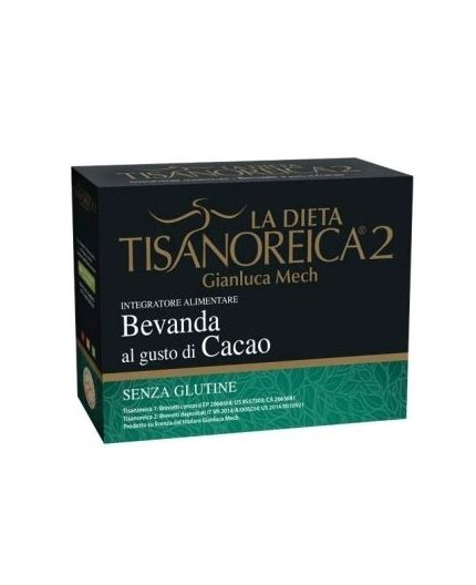 alimenti tisanoreica bevanda cacao 31 5gx4 confezioni tisanoreica 2 bm
