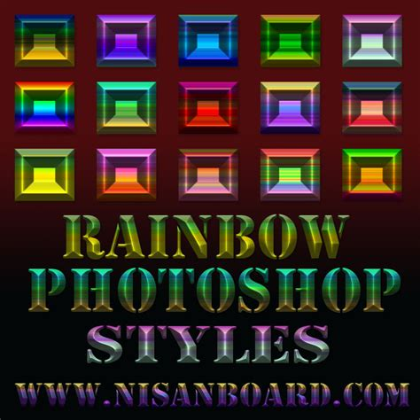 Images Adobe Styles by Rainbow Photoshop Styles By Nisanboard On Deviantart