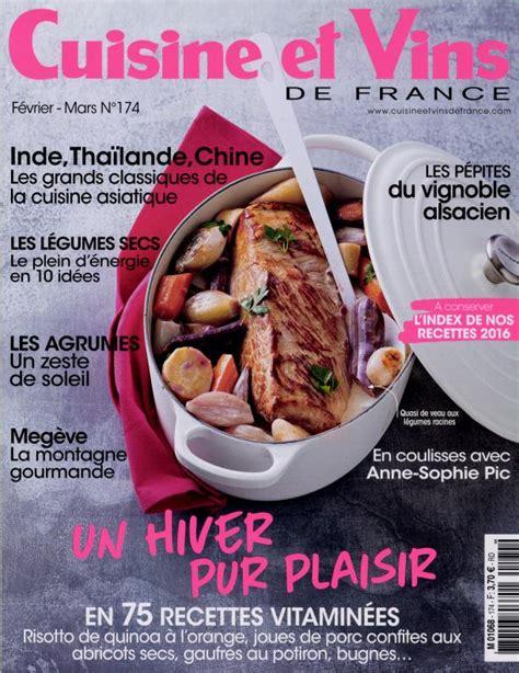 cuisines et vins de abonnement cuisine et vins de abonnement magazine