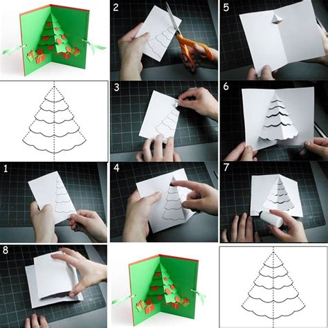 how to make christmas cards step by step diy tutorial