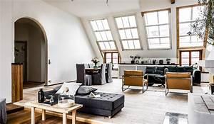 Appartement Sous Comble : le charme des appartements sous combles planete deco a homes world ~ Dallasstarsshop.com Idées de Décoration