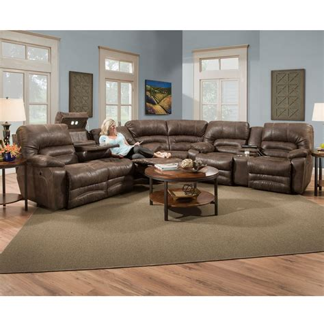 Loveseat Sectional Sofa by Legacy Faux Leather Collection