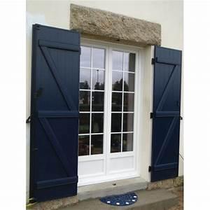 porte fenetre pvc 2pl With porte de garage et porte en bois blanc