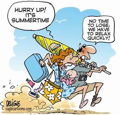 Summer Jokes Cartoons August Funny Cartoon Humor