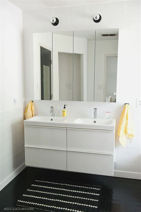 ikea high gloss white master bathroom  ikea godmorgon