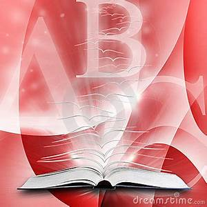 Open Book With Flying Pages Royalty Free Stock Photo ...