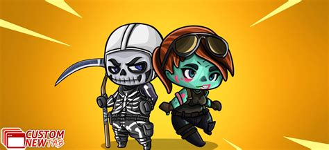 Check spelling or type a new query. Fortnite Cartoon Skins Wallpaper Theme - New Tabsy