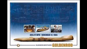 Hot Rod Engine Tech Goldenrod Limited Edition Numbered