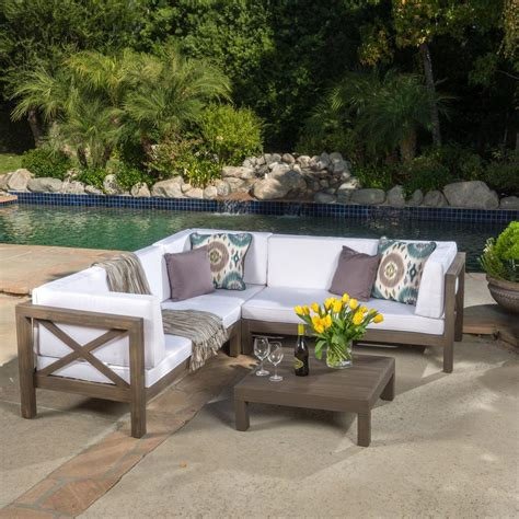 27+ Irresistible Outdoor 4 Piece Sectional