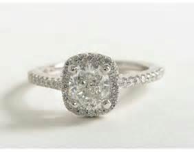 2 carat cushion cut halo engagement rings 1 25 carat cushion cut halo engagement ring recently purchased blue nile