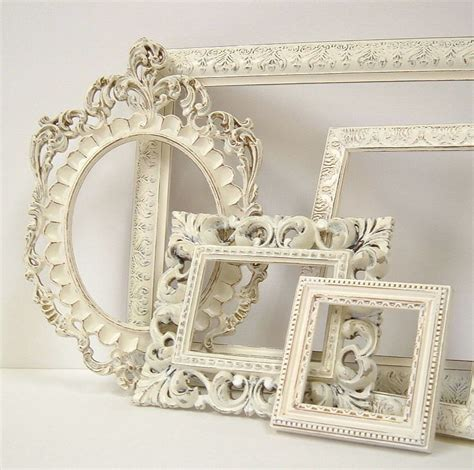 how to shabby chic a picture frame picture frames shabby chic picture frame set ornate frames