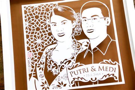 medi makawi and herdianti merilla putri wedding cutteristic