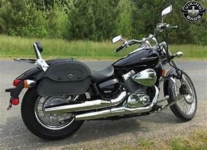 Honda 750 Scooter : honda 750 shadow aero motorcycle saddlebags medium warrior leather ~ Voncanada.com Idées de Décoration