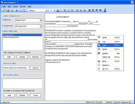 letter write software business letter pro
