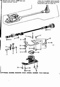 Bobbin Case Diagram  U0026 Parts List For Model 1581784183