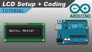 Displaying Text On Lcd Screen From The Arduino Uno