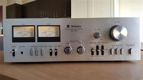 Technics Su-7700 Integrated Amplifier (melb