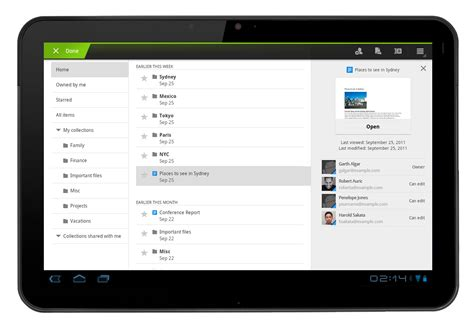 free apps for android tablets docs app update now supports tablets android