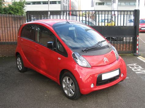 Citroen C Zero electric car photo – front | Paris Autos ...