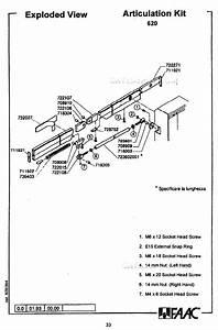 Replacement Parts Diagram   624mps Control Board Parts Diagram