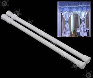 Gardinenstange Fenster Klemmen : 2stk fenster scheiben klemmen stange kit gardinenstange klemmstange ebay ~ Orissabook.com Haus und Dekorationen