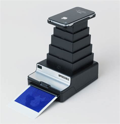 polaroid printer for iphone the impossible instant lab
