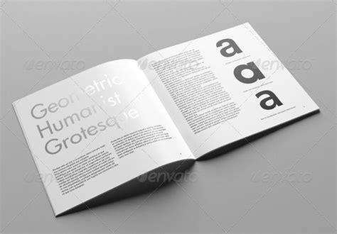 mockup trifold brochure  mockup template  psd