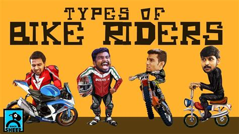 Types Of Bike Riders