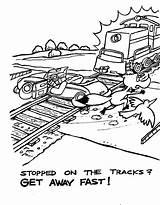 Coloring Fox Sly Birdie Train Freight Earthquakes Earthquake Vingel Kleurplaten Kleurplaat Runner Road Uploaded Zemlak Ernie Below Dr Alchetron Plot sketch template