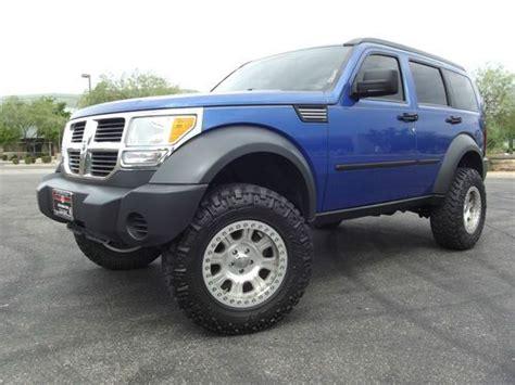 lifted jeep nitro sell used 2007 dodge nitro 4x4 lifted sxt bead lock