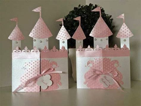 diy castle shaped invitation  card  template
