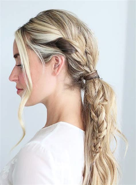 Ponytail Braid Hairstyles by 17 Best Ideas About Braid Ponytail On Braided