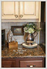 17 best ideas about french country kitchen decor on With what kind of paint to use on kitchen cabinets for metal flower wall art hobby lobby