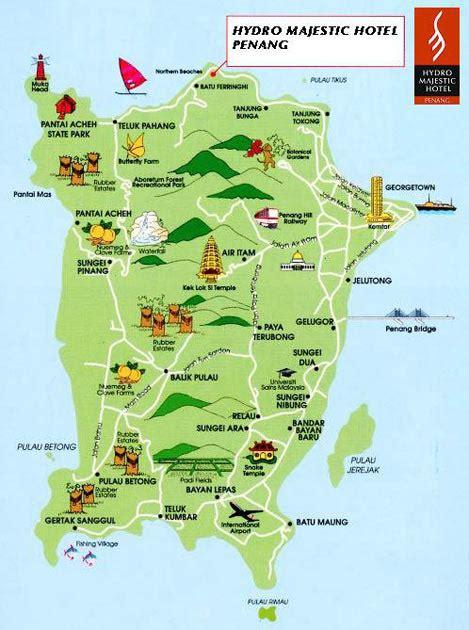 location map hydro penang hotel
