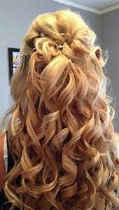30 Best Half Up Curly Hairstyles Hairstyles Haircuts