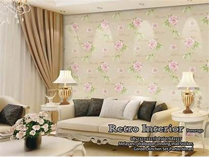 Dinding Ruang Tamu Untuk Motif Contoh Gambar