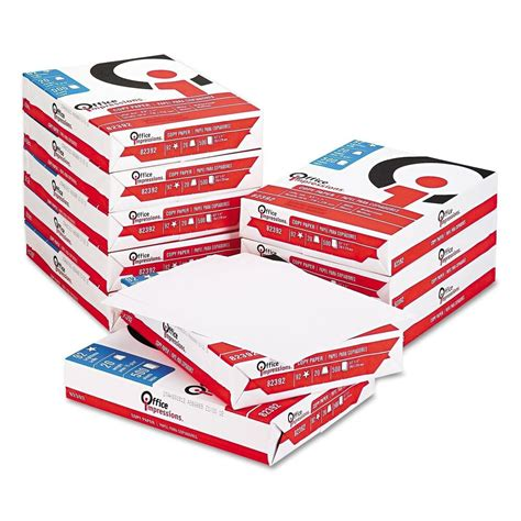 Office Supplies In Bulk by Office Impressions Copy Paper 20lb 92 Bright 8 1 2 X