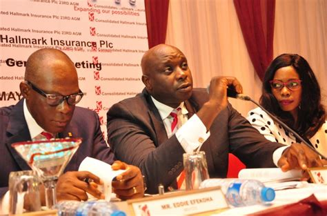 Committed to providing quality services and the highest possible level of customer satisfaction. Consolidated Hallmark Insurance Rewards Shareholders with N140M ... Settles N3.354 billion Gross ...