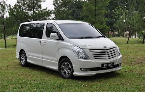 Review Hyundai Starex by Hyundai Grand Starex Royale Tested Autoworld My