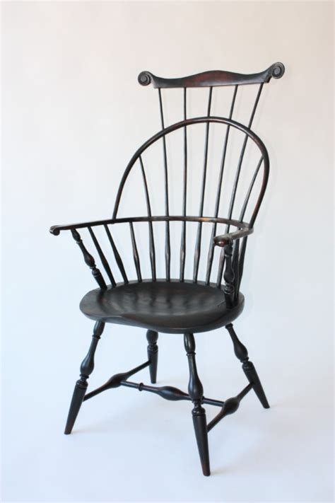bow back arm chair ch 6b chris harter