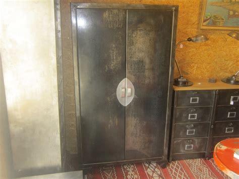 meuble cuisine vintage armoire métallique ancien garde manger geonancy design